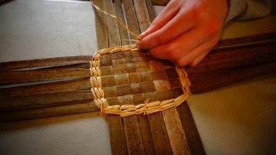 Image result for cattail basket